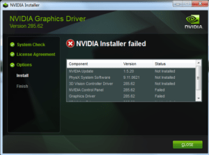 How to Fix Nvidia Installer Failed Issue Windows 10
