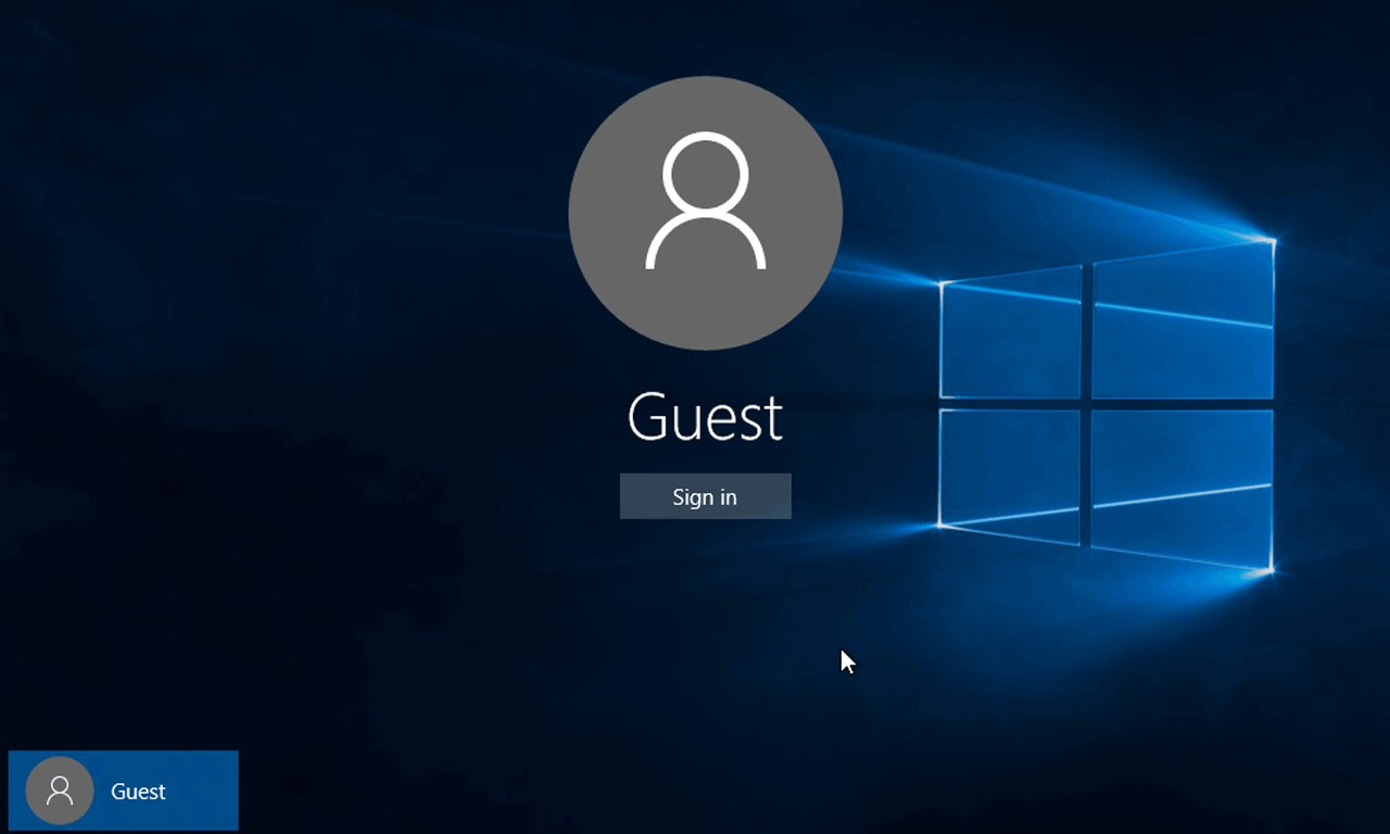 how to create windows 10 guest account the windows plus