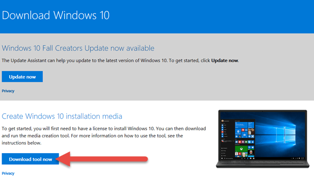 windows 10 iso download without product key