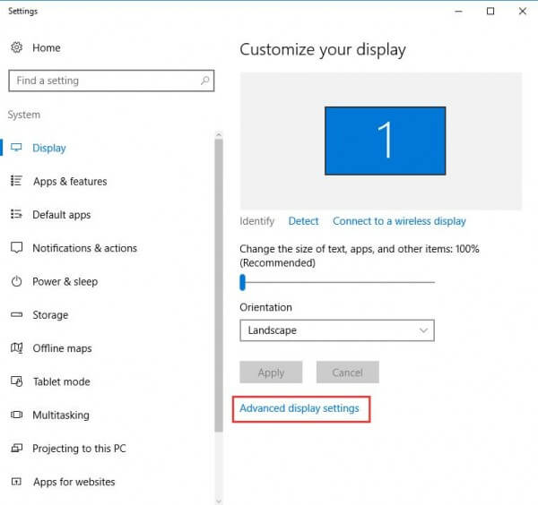 Fix Distorted Screen Problem in Windows 10 - The Windows Plus