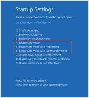 How to Boot Into Advanced Startup Options in Windows 10