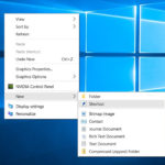 Add or Remove Display Desktop Context Menu on Windows 10