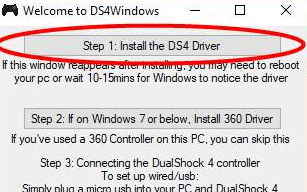 how to connect dual shock 4 to windows 10
