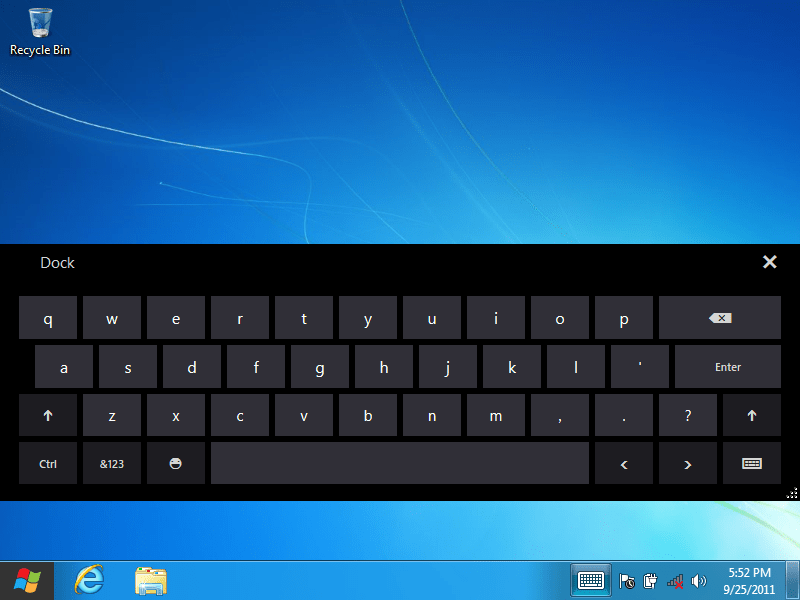 a2d6758d1d3 How to Use the Virtual Keyboard Windows 7, 8, and 10 - The Windows Plus