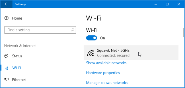 How to View Wireless Network Signal Strength in Windows 10