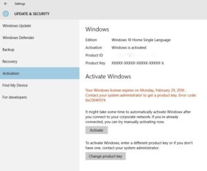 Your Windows License Will Expire Soon – How to Fix