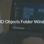 How to Remove 3D Objects folder under This PC in Windows 10