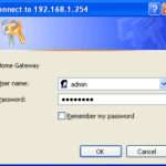 192.168.1.254 Router Admin, Username and Password