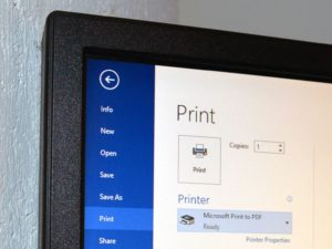 How to Print to PDF on Windows