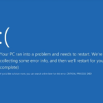 How to Fix Windows 10 Critical Process Died