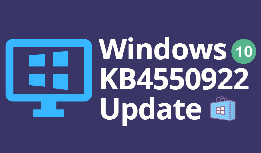 Windows 10 KB4550922 Update